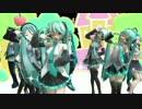 【MMD】10年目のミクさんたちで「プラチナ」【初音ミク誕生祭...