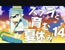 【スプラトゥーン】スプラと育む夏休み 14日目 全1ローラー