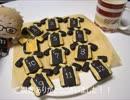 烏野ユニフォームクッキー作ってみた