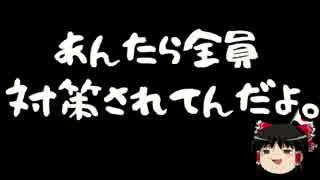【ゆっくり保守】香山リカ、沖縄に乗り込むも車を固定される。