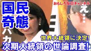 【韓国の次期大統領候補】 世論調査の結果が判明!パン君は絶対絶命!