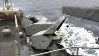 ギリシャ海軍のミサイル発射機がすごくかっこいい