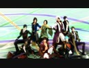 【MMD刀剣乱舞】戦国武将と刀剣男士で威風堂々【MMD戦国BASARA】