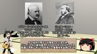 【ゆっくり解説】ゆっくり医学史 消毒法発見の歴史