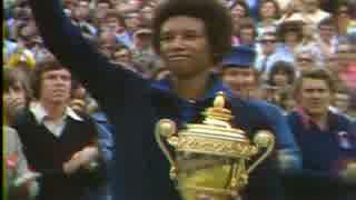 【テニス】40年前のウィンブルドン!! 1975年ウィンブルドン決勝 アッシュvsコナーズ  Part.6