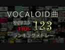 VOCALOID曲マイリスト数前123位ランキングメドレー【PART1】 thumbnail