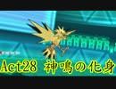 【ポケモンORAS】歴史に刻むシングルレートAct28【神鳴の化身】