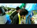 10月18日「沖縄高江N1裏不法テント村」を訪問し荒巻氏が説教しました!