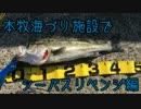 しめじの釣り日記「本牧海づり施設でシーバスリベンジ編」