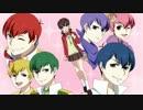 第4位:【手描き】R/E/B/O/R/N!/ED11パロ【おそ松さん】 thumbnail