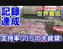 【韓国朴大統領が記録達成】 史上最低支持率に突入!目指せ支持率1%!