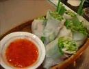 【ニコニコ動画】家庭で簡単おいしい料理【4、おつまみ②生春巻き】を解析してみた