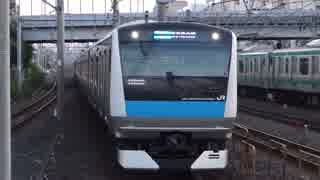 与野駅(JR京浜東北線)を発着する列車を撮ってみた