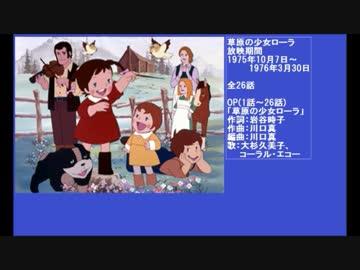 70年代アニメ主題歌集 草原の少...