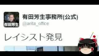 【ゆっくり保守】有田芳生事務所アカウント、一般人を盗撮し中傷。