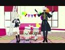 【MMD刀剣乱舞】狐借虎威コンビで『嘘とぬいぐるみ』を踊ってみたよ!