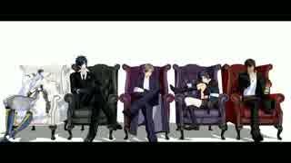 【MMD刀剣乱舞】ヒビカセ【鶴・燭・長・薬・倶】