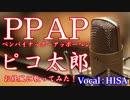【歌詞付きJ-POP】PPAP◆ピコ太郎◆cover◆お経風に歌ってみた◆HISA◆邦楽