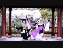 [刀剣乱舞]源氏組(主従+膝)で極楽浄土踊ってみた[コスプレ] thumbnail