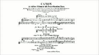 7声のカノン BWV1078(÷154=7) J.S.Bach