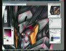 【ガンダムOO】NekopaintでGNフラッグを描いてみた【第一期公結記念】