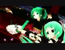 【MMD】あっぴぃ&ぴくちぃミクさんで千本桜【リメイク版】