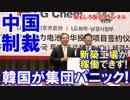 【中国の無慈悲な制裁】 韓国業界が集団パニックで完全崩壊!