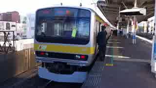 本八幡駅(JR総武緩行線)を発着する列車を撮ってみた
