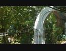 【前面展望】上野動物園西園→上野動物園東園【上野懸垂線】