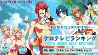 年間アニソンランキング 2016 SINGLE BEST 350【ケロテレビ】151-250