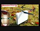 【ヘリラジコン】Wii本体を空に飛ばしたかった・・・【Niconico Direct 】