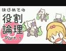 【ポケモンSM】はじめての役割論理 Part.1