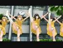 【MMD】アリス5人全日本鼓笛BAND風がチアダンスを校庭中庭で踊る