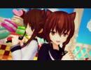 [MMD艦これ] 電&文月で好きだな君が~Full ver.~ thumbnail