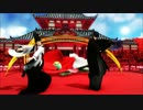 【MMD刀剣乱舞】 千本桜 【つきにし式にっかり青江・sam式燭台切光忠】