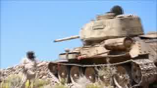 イエメン軍が反政府勢力に対しT-34を投入
