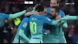 カード乱舞 ≪16-17コパ・デル・レイ≫ [ベスト16:第1戦] ビルバオ vs バルセロナ