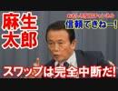 【日韓通貨スワップが完全中断】 麻生太郎