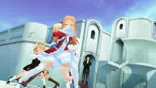 【MMD】HYBRID【かにひら三人娘&アリス】【東方MMD】
