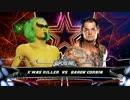 WWE2K16 クリスマスツリーのオッサンが世界を目指す08