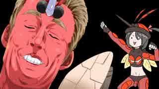 【ポケモンSM】対戦プロ実況022 止め針マッシブーンが圧倒的すぎる筋肉!
