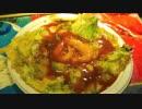 中国の屋台 牡蠣のお好み焼き