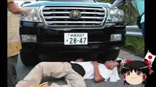 【ゆっくり保守】 ヘイワ活動家が轢かれた件で機動隊員を書類送検。