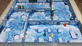 フクハナのひとりボードゲーム紹介 No.126『アイスクール(ICECOOL)』