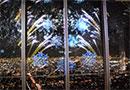 夜景と星の物語が溶け合うプロジェクションマッピングを日本一高いビルで体験!