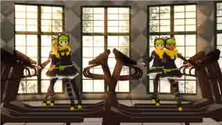 【MMD】ISISちゃん4人でHere it Goes Again【ISIS chan】