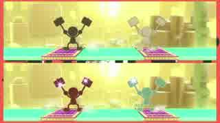 【スマブラWiiU】Mr.ゲーム&ウォッチで初音ミク「惑星ループ」を演奏