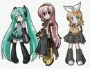【ボカロ3人】ちいさな冒険者【Vocaloidカバー】