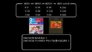 MSX MuSICAで、ドラクエ4「戦闘」 作成してみた