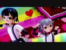 【MMD】霞ちゃんと霰ちゃんでドレミファミックス【モデル配布おわり】